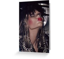 KISSEY FRAU AUS HAMBURG Greeting Card