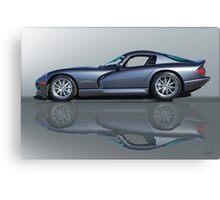 2000 Dodge Viper GTS VS0 'Reflections' Canvas Print
