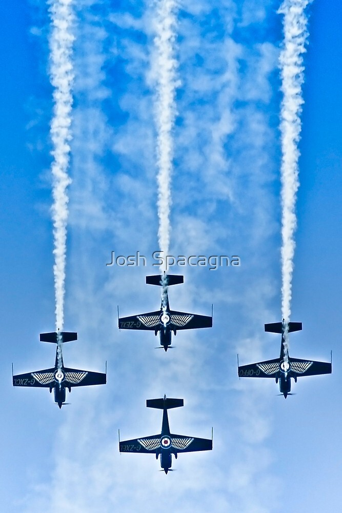 "Flying precise - ""Blue Arrows"" by Josh Spacagna"