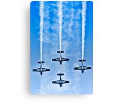 "Flying precise - ""Blue Arrows"" Canvas Print"