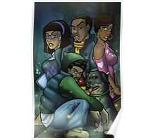 African American Scooby Doo Detective Agency Poster