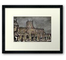 The Abbey Church Framed Print