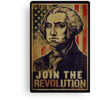 Washington Revolution Propaganda Canvas Print
