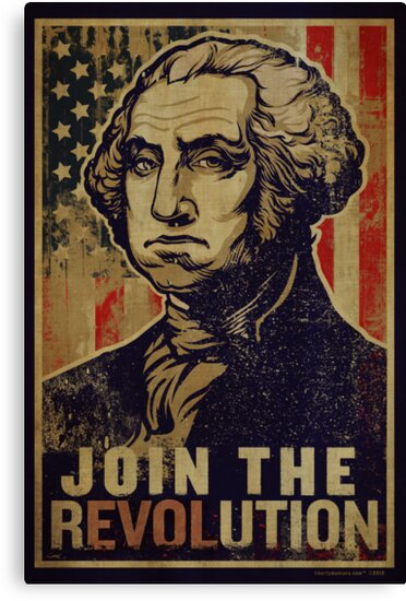 Washington Revolution Propaganda by LibertyManiacs
