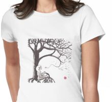 Spiral- Tree of Life Womens Fitted T-Shirt