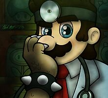 Dr. Dexter Mario by illumistrations