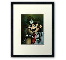 Dr. Dexter Mario Framed Print