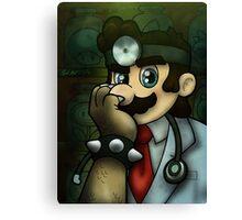 Dr. Dexter Mario Canvas Print
