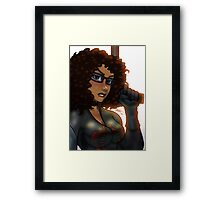 African American Baroness Framed Print