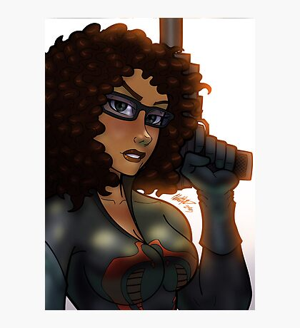 African American Baroness Photographic Print