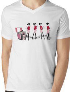 Ska Girl Mens V-Neck T-Shirt