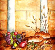 Elements of Shavuot-Feast of Pentecost by Janis Lee Colon