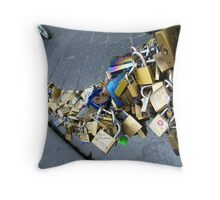 So where's the bagels and cream cheese ? Firenze [Florence], Italy Throw Pillow