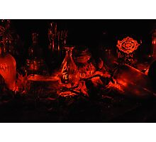 Witches Apothecary... Photographic Print