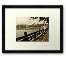 Mei Shan River Front Framed Print