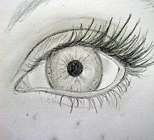 Pencil Eye by shandab3ar