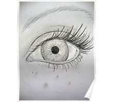 Pencil Eye Poster