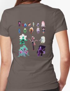Pixel Gems Womens Fitted T-Shirt