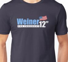 Weiner 2012 Inches - Dark Unisex T-Shirt