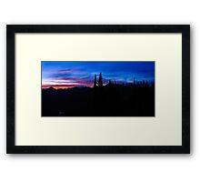 Sail Mountain sunrise  Framed Print