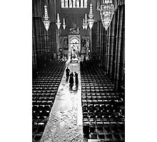 Clergy at Westminster Abbey Photographic Print