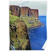 Kilt Rock - Isle of Skye Poster