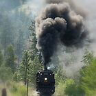 """3716 Steam Engine"" by Jeff Ashworth & Pat DeLeenheer"