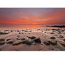 Harlech seascape Photographic Print