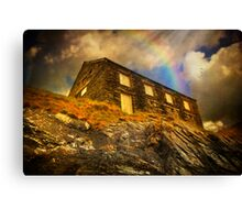 House Of Rock Canvas Print