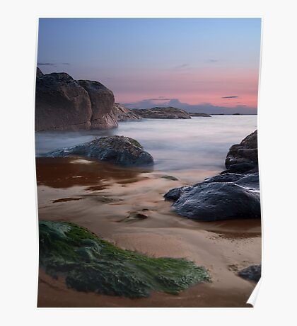 Beach Colours Poster