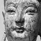 Black and white Buddha by iheartrhody