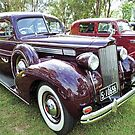 1938 Packard Eight Sedan by Marilyn Harris