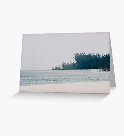Slice of Paradise Greeting Card