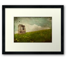 Surreal Building Framed Print