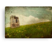 Surreal Building Canvas Print