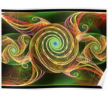 Gnarly Spirals  (UF0328) Poster