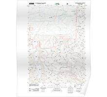 USGS Topo Map Oregon Williams Prairie 20110727 TM Poster