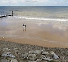 Sheringham beach by StephenRB