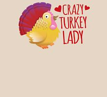 Crazy Turkey lady Womens Fitted T-Shirt