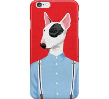 Skinhead Bull Terrier iPhone Case/Skin