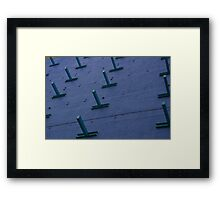Which Of You Is The North Pole? Framed Print