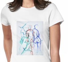 Moments in Time (2) Womens Fitted T-Shirt
