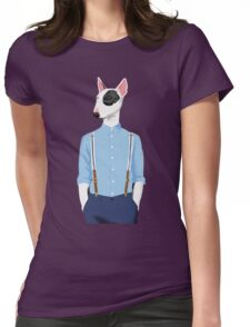 Skinhead Bull Terrier Womens Fitted T-Shirt