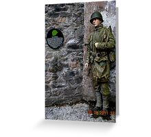 The Ulster G I's! Greeting Card