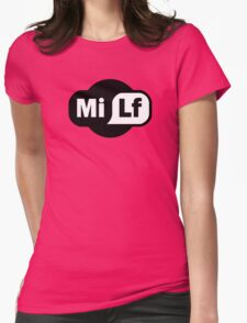 MILF - Wi-Fi Parody Womens Fitted T-Shirt