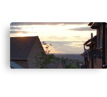 Suburb skyline Canvas Print