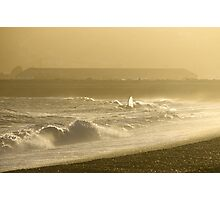 Sunset Surf at Seaford Bay Photographic Print