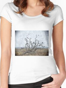 Country Blackbirds Women's Fitted Scoop T-Shirt