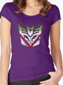 Jokercons: Wire So Serious?* Women's Fitted Scoop T-Shirt