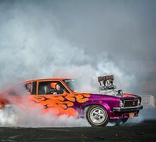 FRYZEM Tread Cemetery Burnout by VORKAIMAGERY